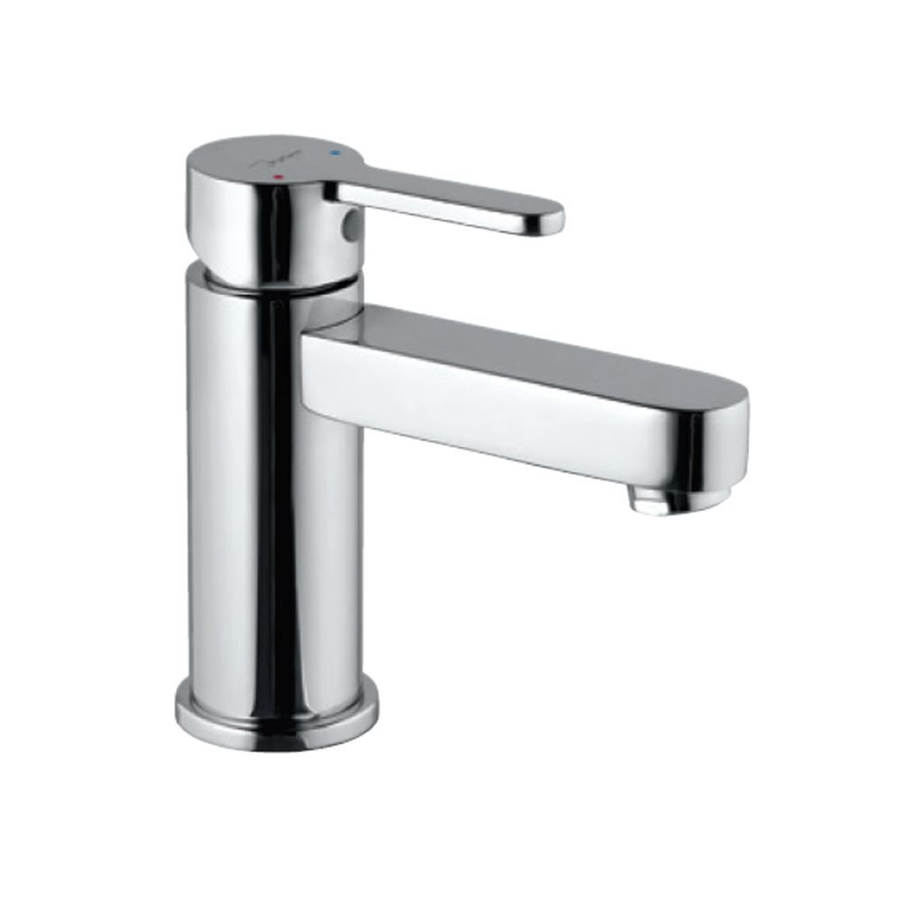 Jaquar Single Lever Extended Basin Mixer without Popup Waste System with Long Braided Hoses